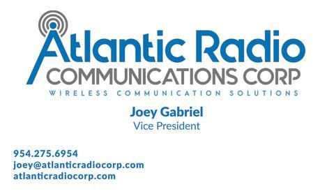 joey gabriel vp atlantic radio