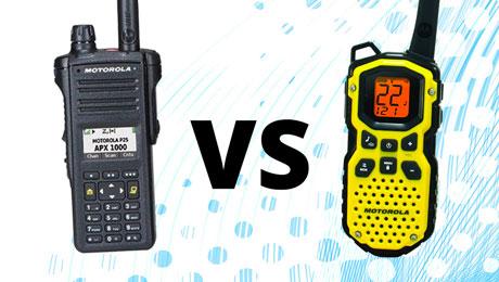 walkie talkies & two-way radios