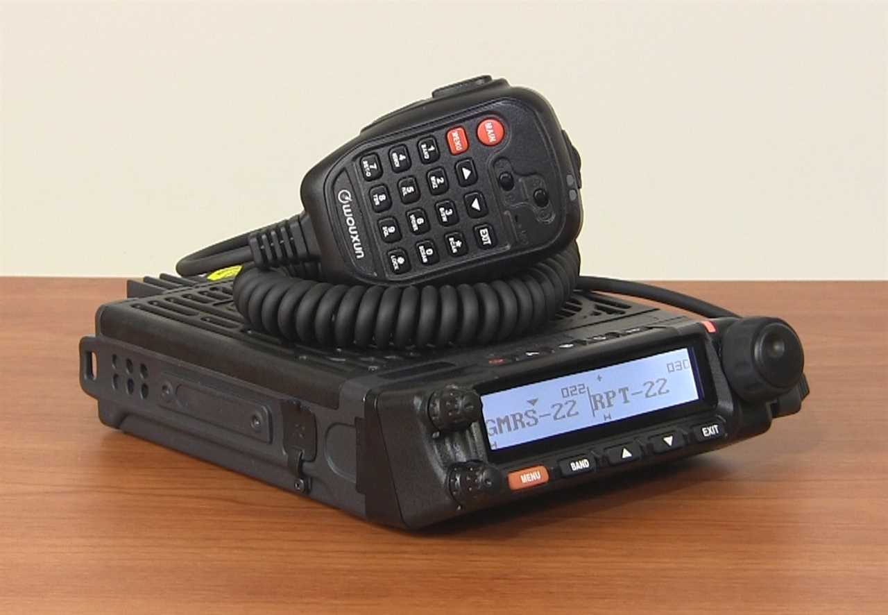 Wouxun KG-1000G Mobile GMRS Two Way Radio