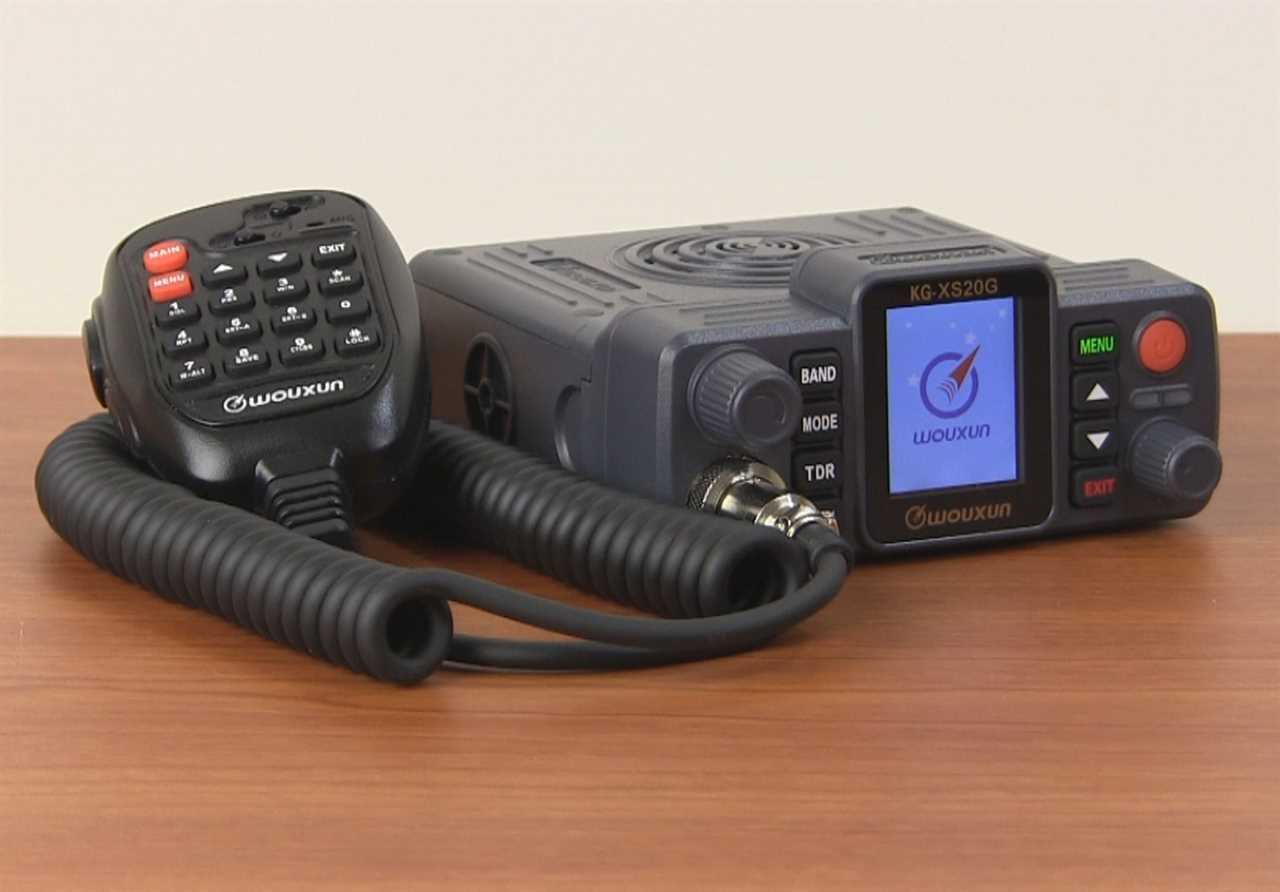 Wouxun KG-XS20G Mobile GMRS Two Way Radio